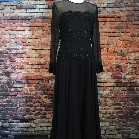Neiman Marcus Dresses   100 Silk Formal Dress Final Drop   Poshmark